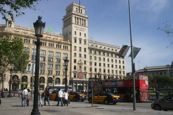 Sede do Banco Central de Barcelona